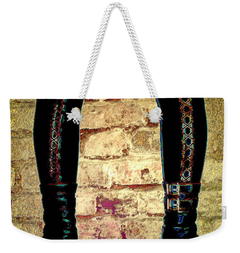 Photography Weekender Tote Bag featuring the photograph Face Off by Paula Ayers
