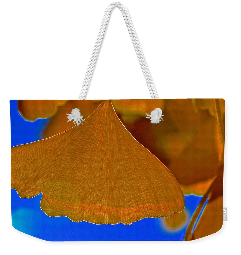 Fading Leaf Weekender Tote Bag featuring the photograph Fade To Autumn by Bill Owen