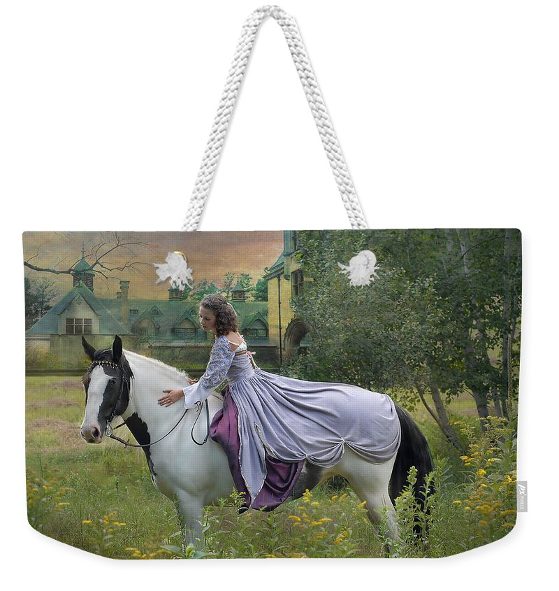 Horses Weekender Tote Bag featuring the photograph Faerie Tales by Fran J Scott