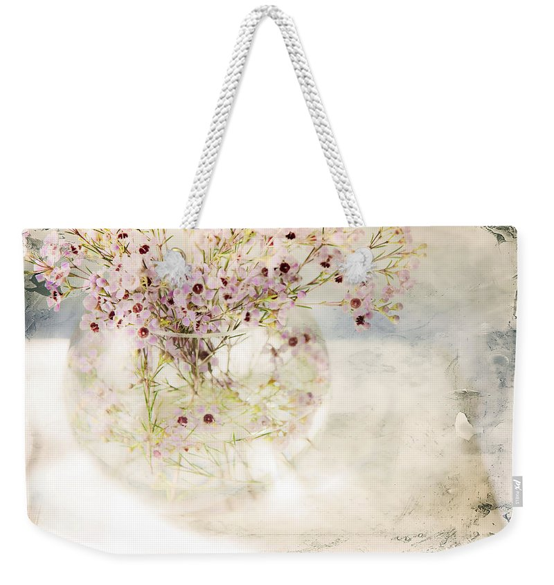 Bouquet Weekender Tote Bag featuring the photograph Fairy Bouquet by Theresa Tahara