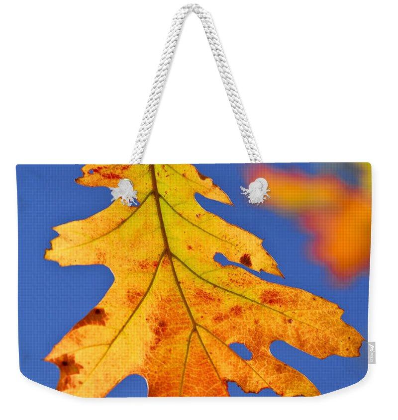 Autumn Leaf Weekender Tote Bags