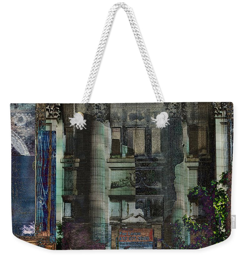 Banking Crisis Weekender Tote Bag featuring the photograph Fallen Empire by Jay Ressler