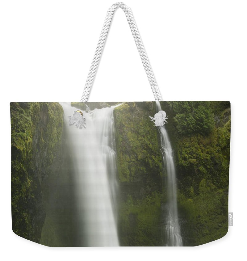 Feb0514 Weekender Tote Bag featuring the photograph Falls Creek Falls Gifford Pinchot Nf by Kevin Schafer