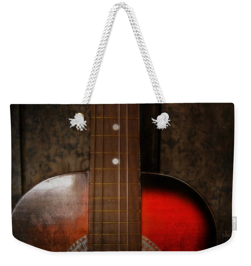 Guitar Weekender Tote Bag featuring the photograph Family Jewel by Jamie Johnson