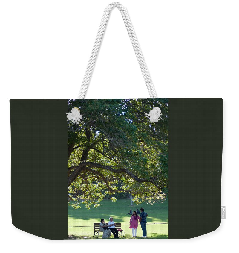 Australia Weekender Tote Bag featuring the photograph Family Outing by Jill Mitchell