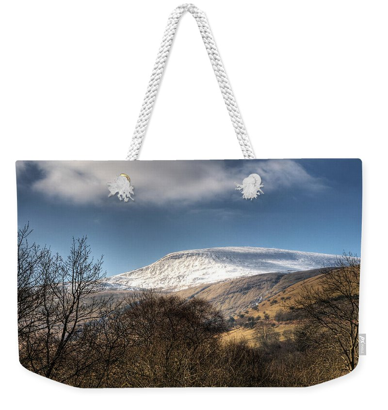 Fan Fawr Mountain Weekender Tote Bag featuring the photograph Fan Fawr Brecon Beacons 3 by Steve Purnell