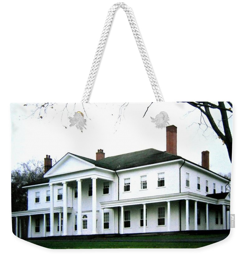 Fanningbank Weekender Tote Bag featuring the photograph Fanningbank by Will Borden