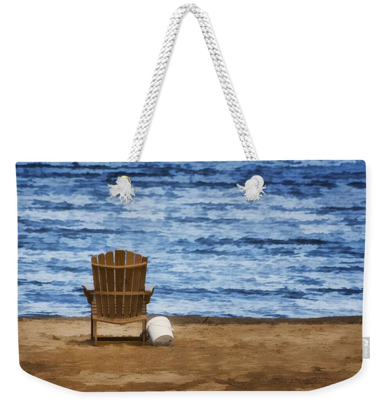 Alone Weekender Tote Bag featuring the photograph Fantasy Getaway by Joan Carroll