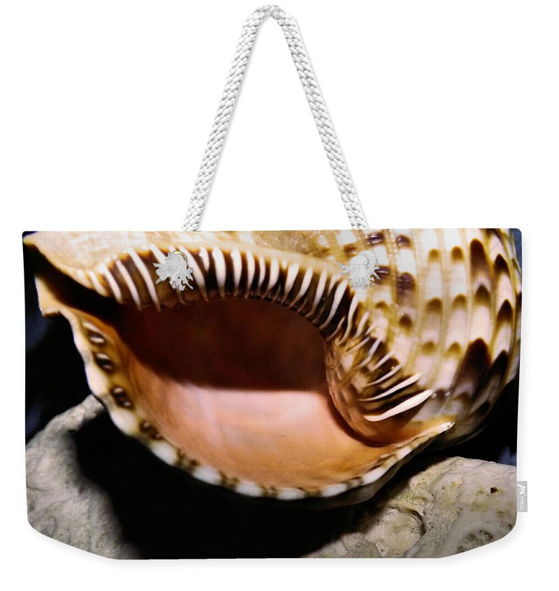 Still Life Weekender Tote Bag featuring the photograph Faraway Places by Robyn King