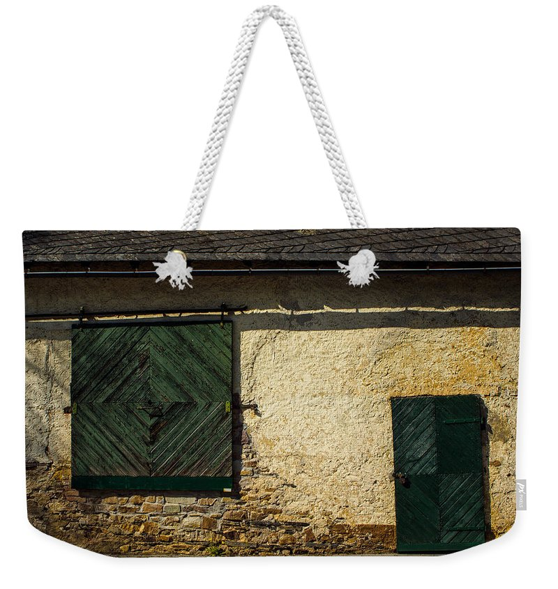 Apartment Weekender Tote Bag featuring the photograph Farmhouse by TouTouke A Y