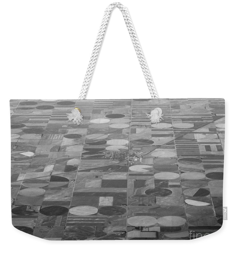 Crop Circles Weekender Tote Bag featuring the photograph Farming In The Sky by Anthony Wilkening