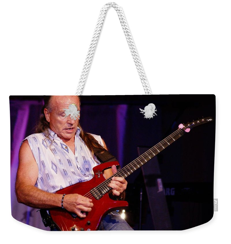 Mark Farner Weekender Tote Bag featuring the photograph Farner #15 by Ben Upham