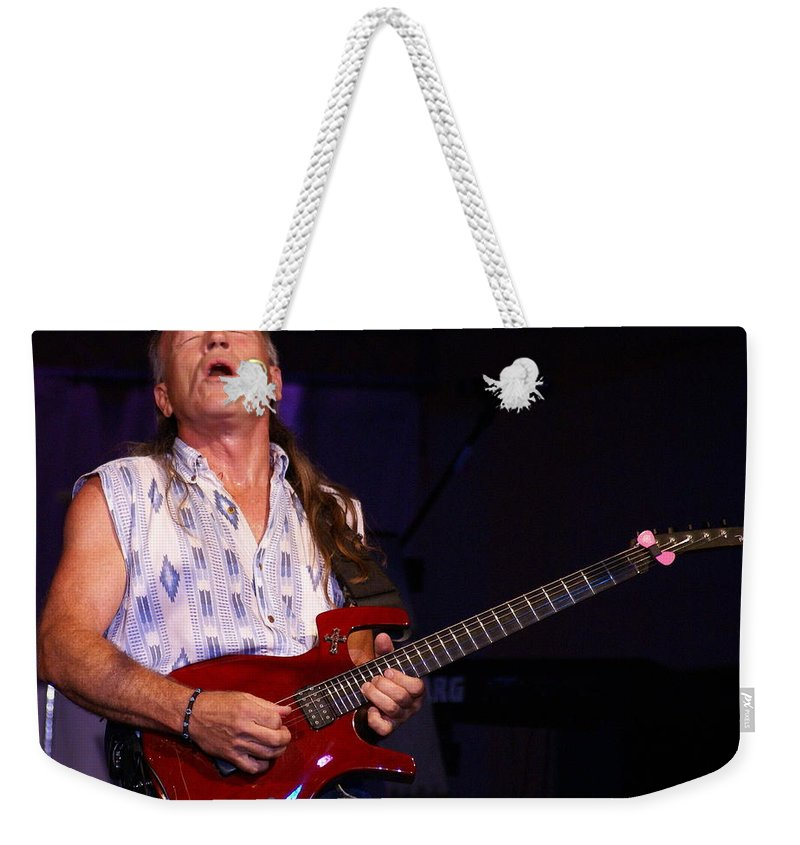 Mark Farner Weekender Tote Bag featuring the photograph Farner #21 by Ben Upham