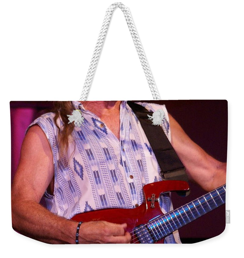 Mark Farner Weekender Tote Bag featuring the photograph Farner #27 by Ben Upham