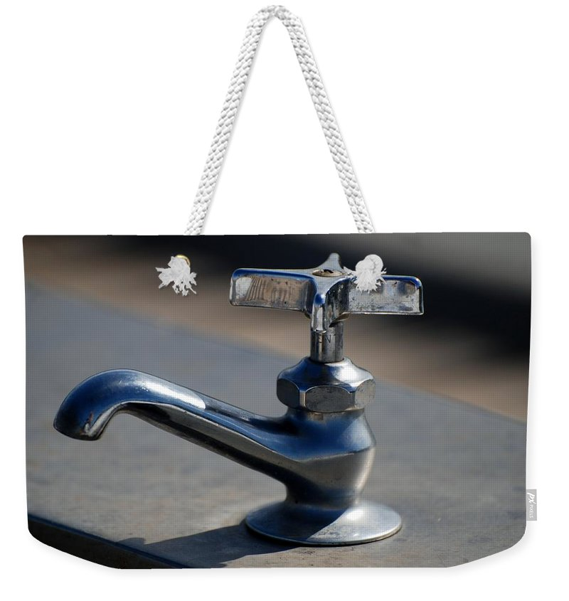 Faucet Photo Weekender Tote Bag featuring the photograph Farrah by Rob Hans