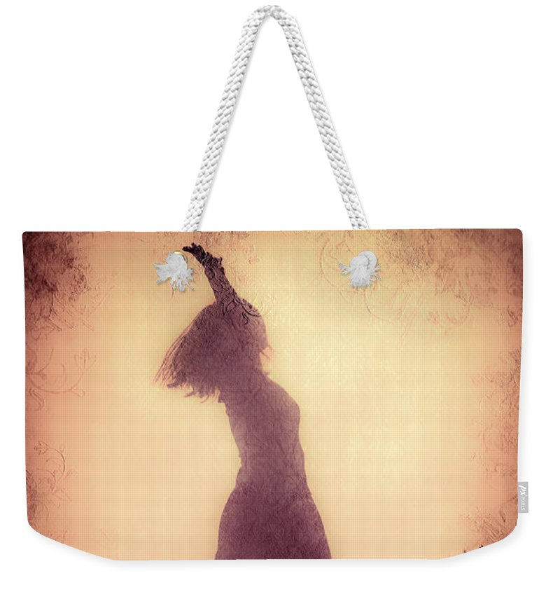 Loriental Weekender Tote Bag featuring the photograph Feminine Freedom by Loriental Photography