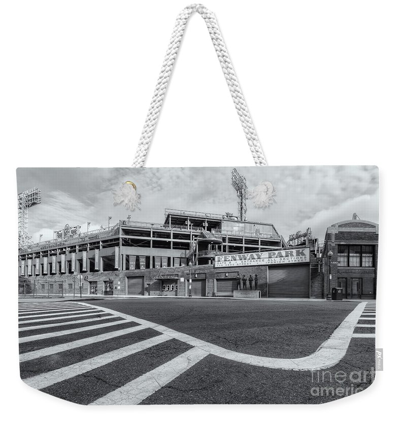 Clarence Holmes Weekender Tote Bag featuring the photograph Fenway Park V by Clarence Holmes
