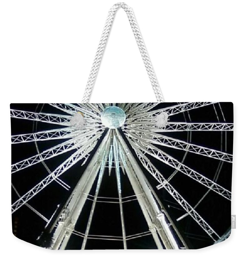 Art Weekender Tote Bag featuring the photograph Ferris Wheel 10 by Michelle Powell