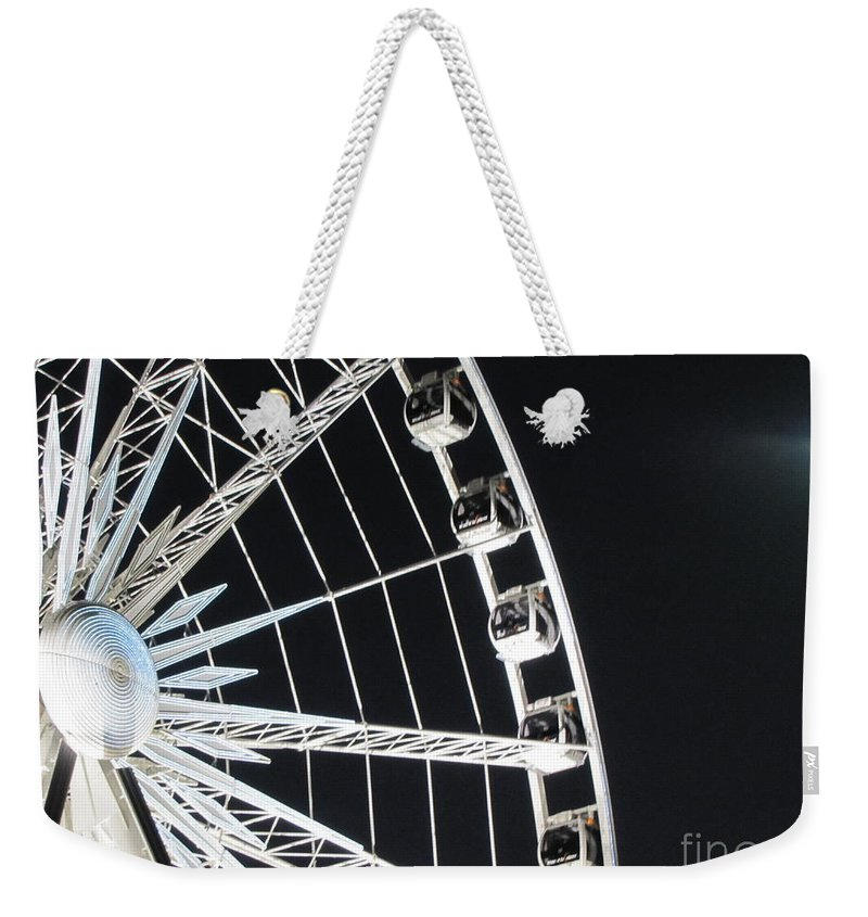 Art Weekender Tote Bag featuring the photograph Ferris Wheel 15 by Michelle Powell
