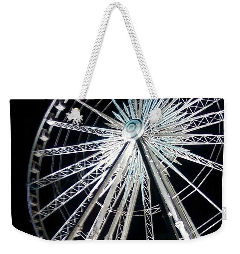 Ferris Wheel Weekender Tote Bag featuring the photograph Ferris Wheel 4 by Michelle Powell