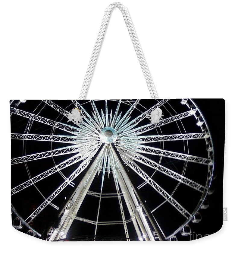 Art Weekender Tote Bag featuring the photograph Ferris Wheel 8 by Michelle Powell