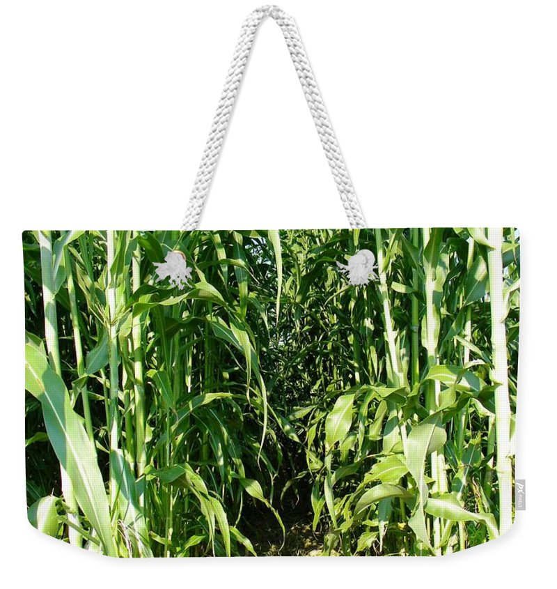 Field Weekender Tote Bag featuring the photograph Field Of Dreams by Matthew Seufer