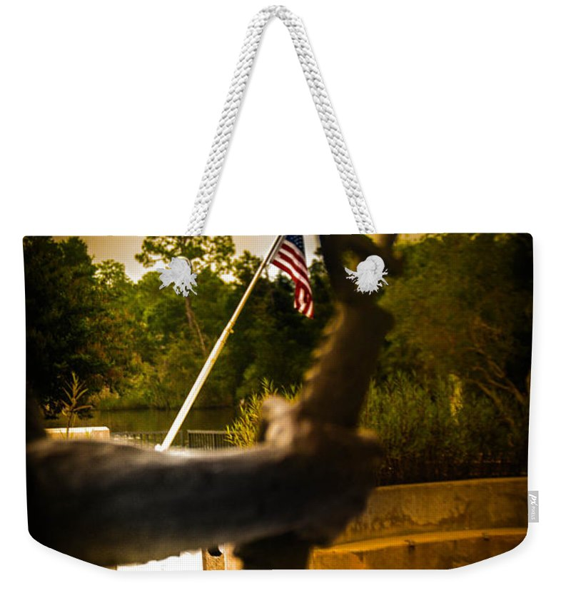 War Weekender Tote Bag featuring the photograph Fighting For Freedom by Jon Cody
