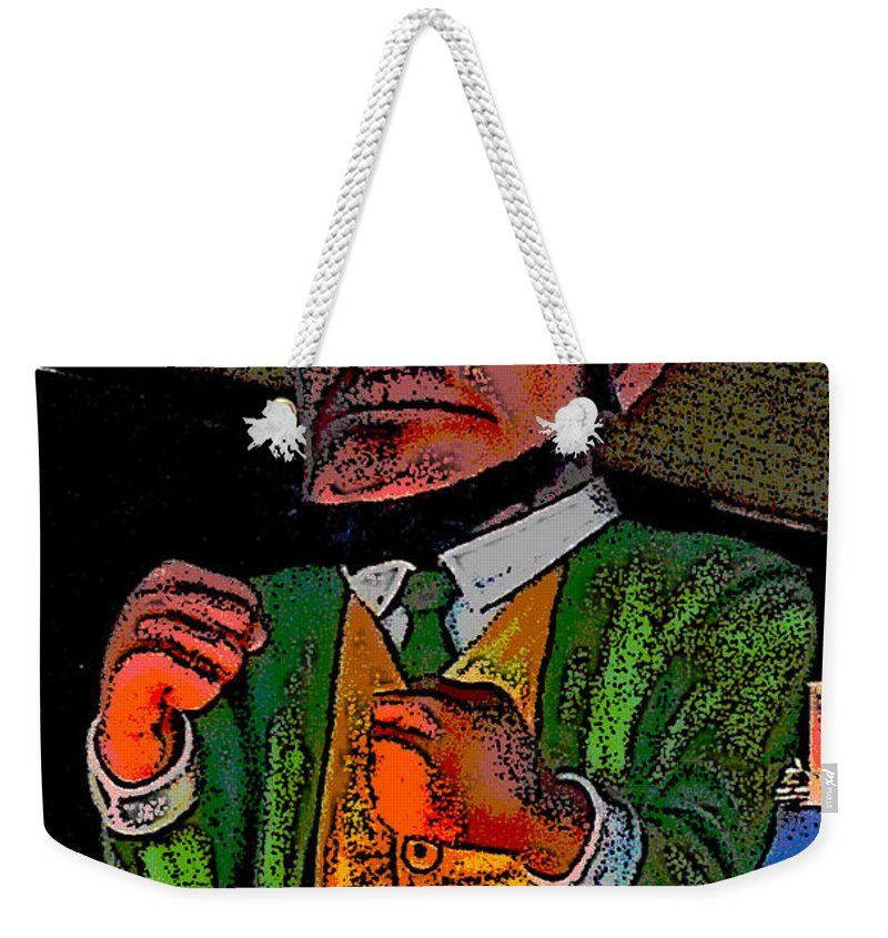 Computer Graphics Weekender Tote Bag featuring the photograph Fighting Irish by Marian Bell