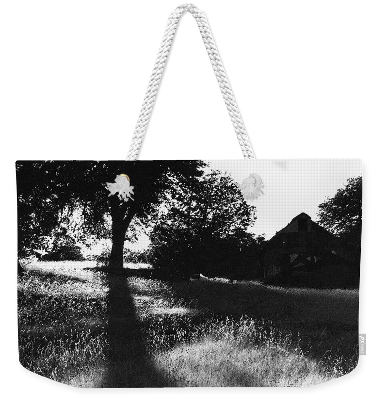 Film Noir Joseph Cotton Alfred Hitchcock Shadow Of A Doubt 1943 Ghost Town Mowry Arizona 1968-2008 Weekender Tote Bag featuring the photograph Film Noir Joseph Cotton Alfred Hitchcock Shadow Of A Doubt 1943 Ghost Town Mowry Arizona 1968-2008 by David Lee Guss