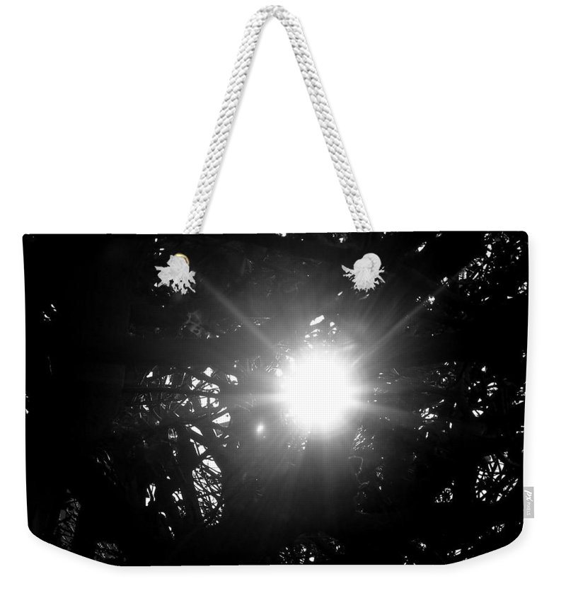 Sunlight Weekender Tote Bag featuring the photograph Finding Hope by Keisha Marshall