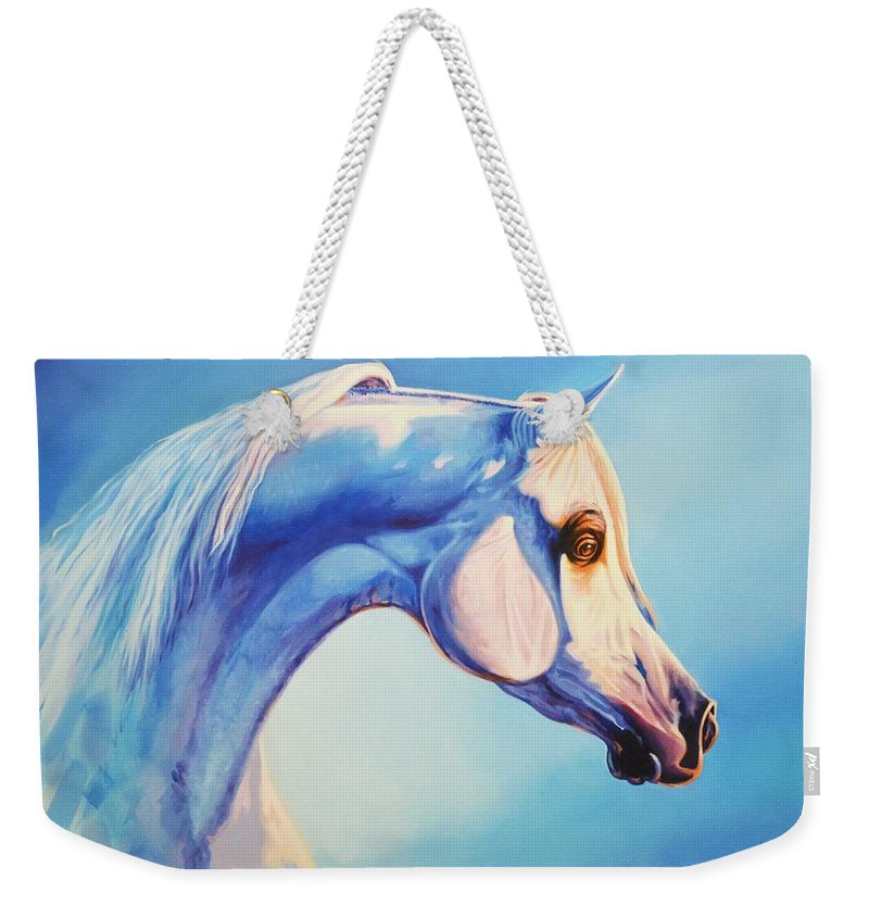 Impressionism Weekender Tote Bag featuring the painting First Light by Ahmed Bayomi