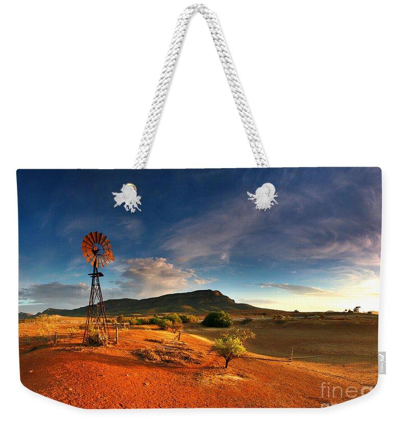 Arid Weekender Tote Bags