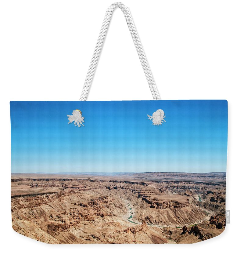 Extreme Terrain Weekender Tote Bag featuring the photograph Fish River Canyon, Namibia by Shaun