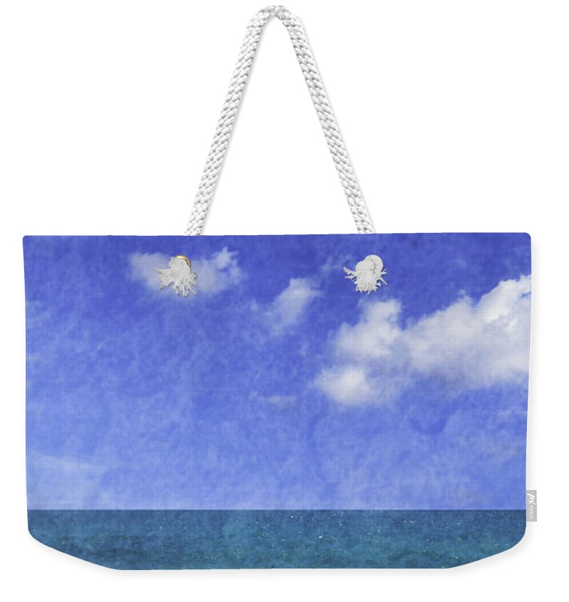 Boat Weekender Tote Bag featuring the photograph Fishing Boat Algarve Portugal by Amanda Elwell