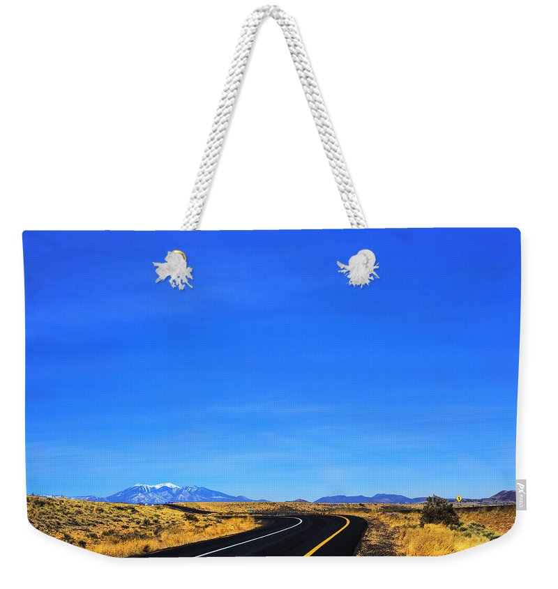 Landscape Mountain Weekender Tote Bag featuring the photograph Flagstaff by Otto Searan