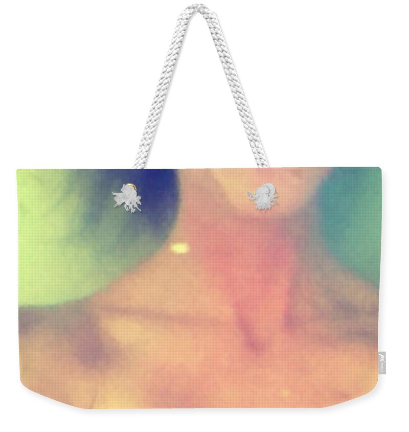 Bath Weekender Tote Bag featuring the photograph Fleurette by Lisa Piper