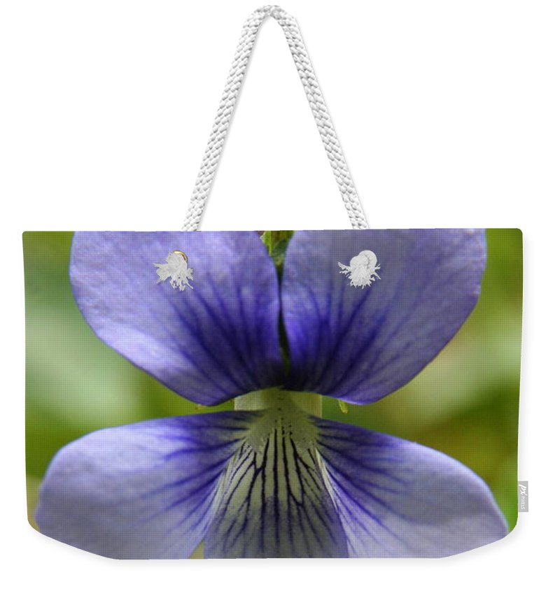 Flowers Weekender Tote Bag featuring the photograph Floral Flight by Neal Eslinger