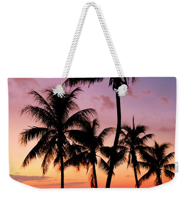 Sunset Weekender Tote Bag featuring the photograph Florida Breeze by Chad Dutson