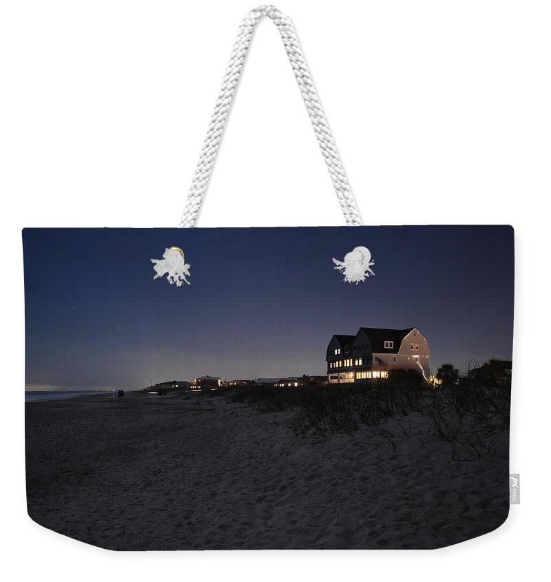 Night Weekender Tote Bag featuring the photograph Florida Night by Wayne Schmitt