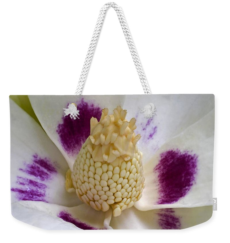 Abundance Weekender Tote Bag featuring the photograph Flower 179 by Ingrid Smith-Johnsen