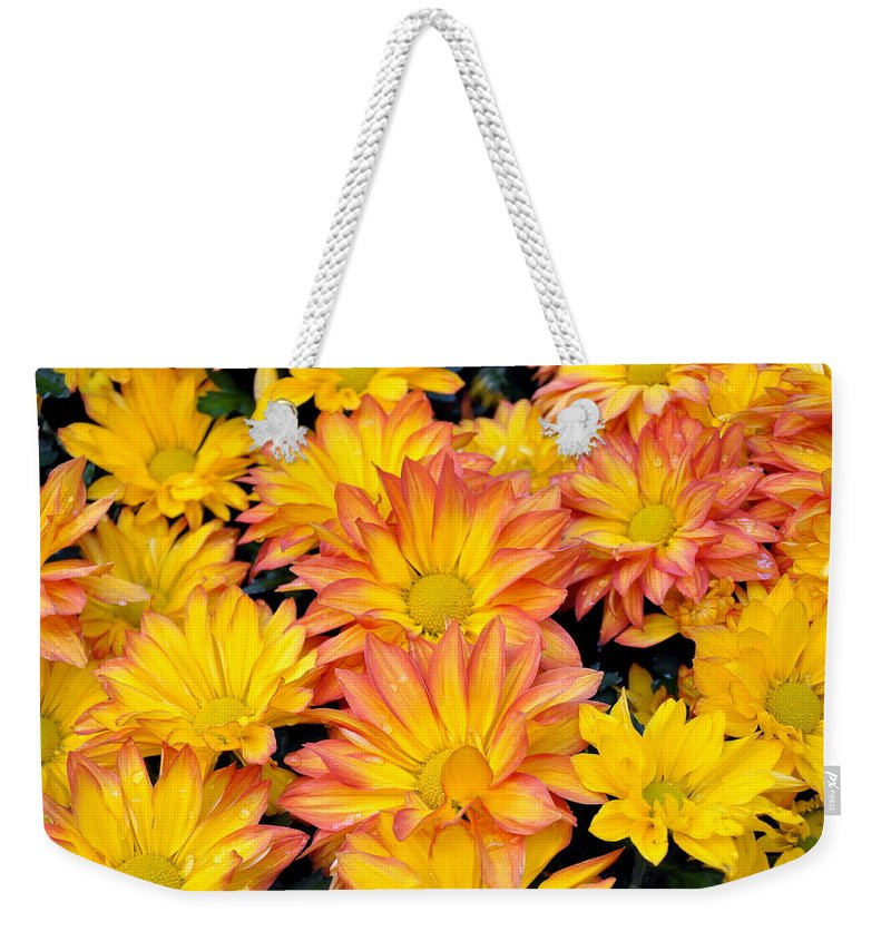 Flower Weekender Tote Bag featuring the photograph Flower by Gandz Photography