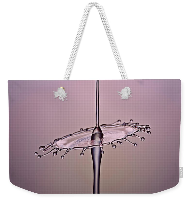 Creative Weekender Tote Bag featuring the photograph Fluid Tutu by Susan Candelario