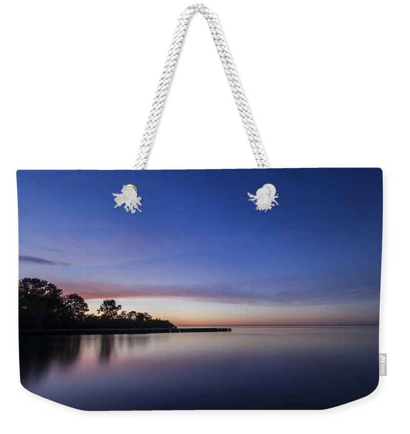 Www.cjschmit.com Weekender Tote Bag featuring the photograph Fluidity by CJ Schmit
