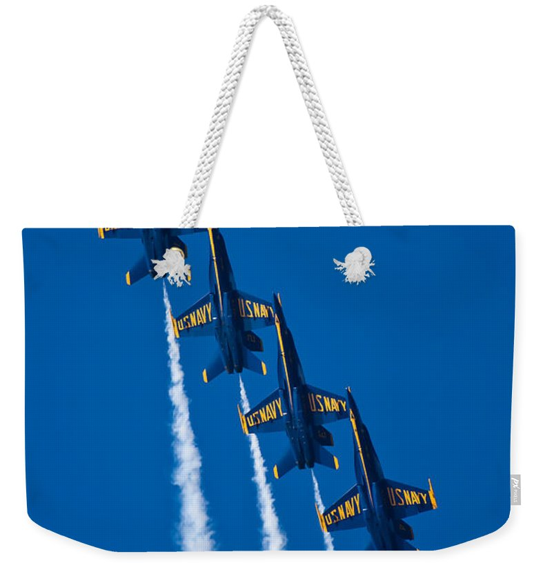 3scape Photos Weekender Tote Bag featuring the photograph Flying High by Adam Romanowicz