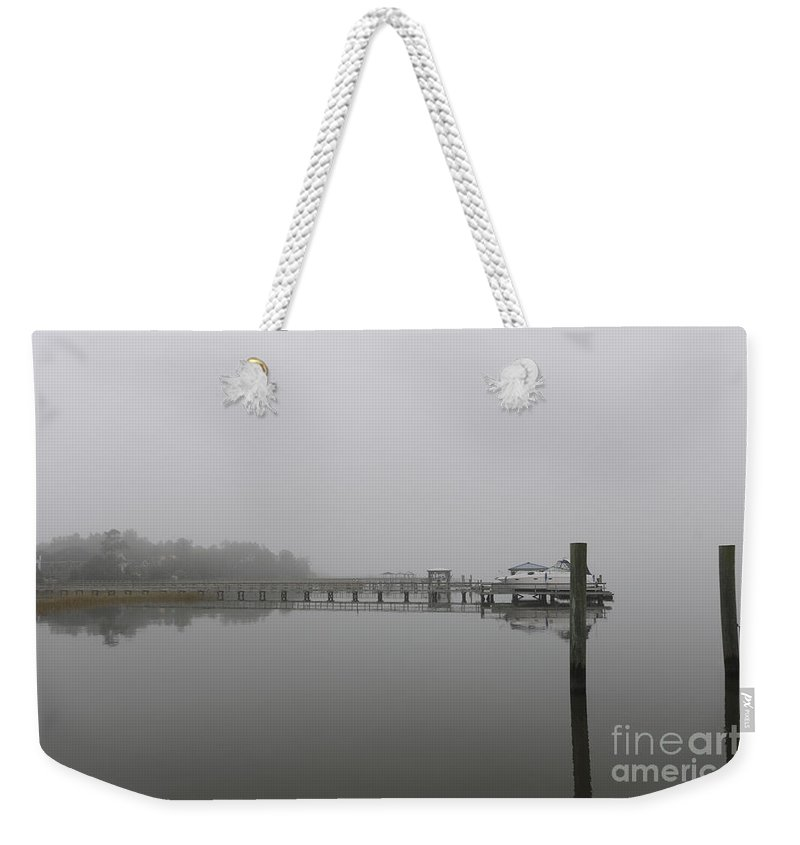 Fog Weekender Tote Bag featuring the photograph Foggy Bottom by Dale Powell