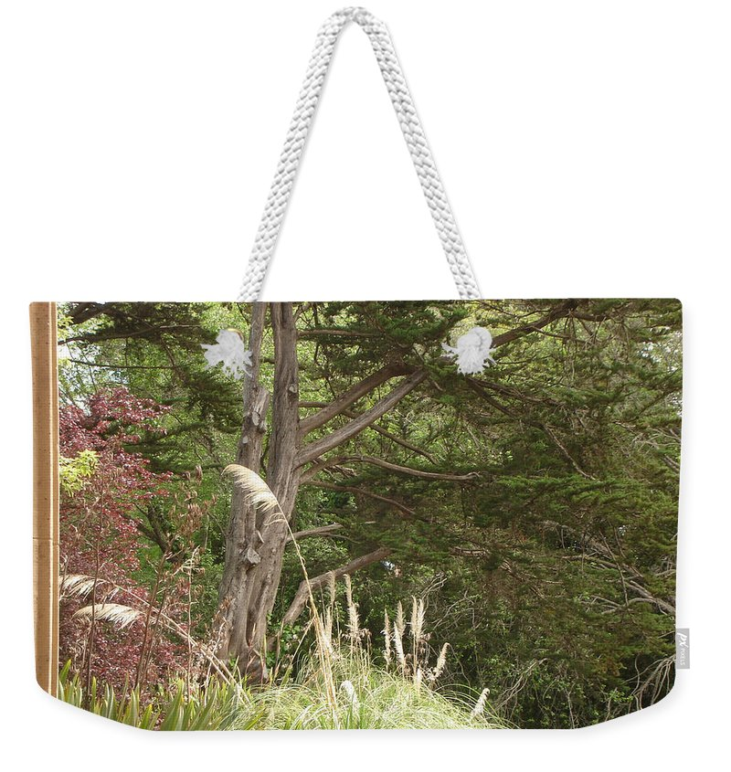 Foliage Weekender Tote Bag featuring the photograph Foliage Art by Lovina Wright