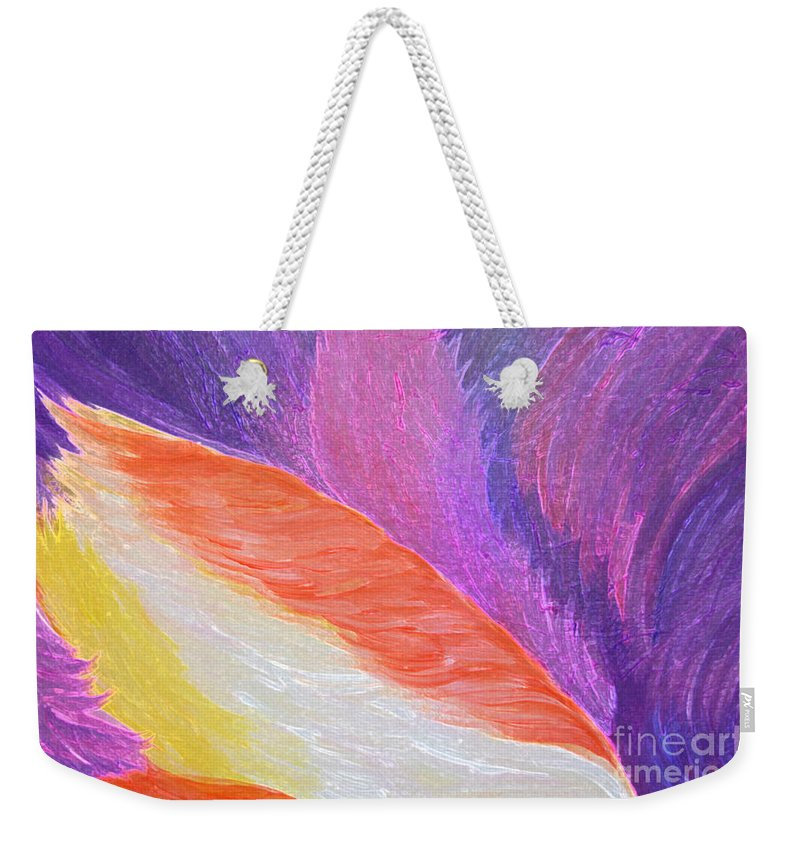 First Star Art Weekender Tote Bag featuring the painting Follies by First Star Art