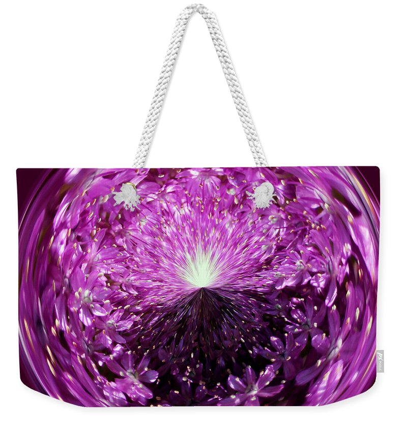 Light Weekender Tote Bag featuring the photograph Follow The Light by Cynthia Guinn
