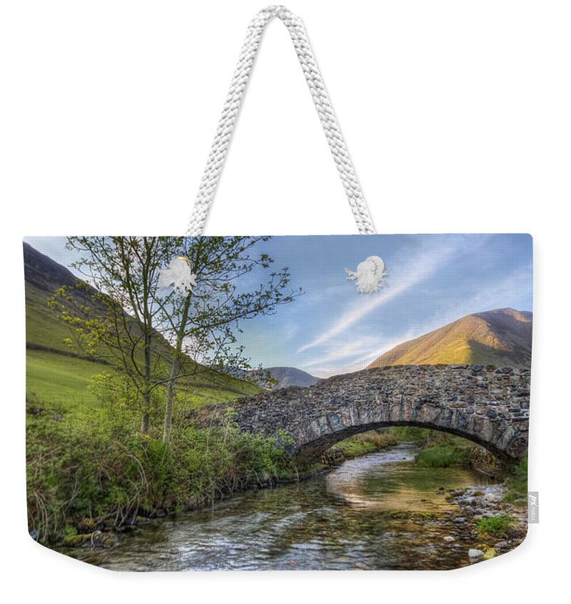 Landscape Weekender Tote Bag featuring the photograph Follow Your Bliss by Evelina Kremsdorf