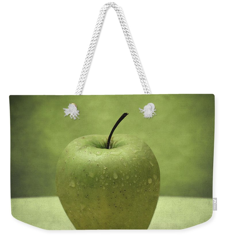 Apple Weekender Tote Bag featuring the photograph Apple by Zapista Zapista